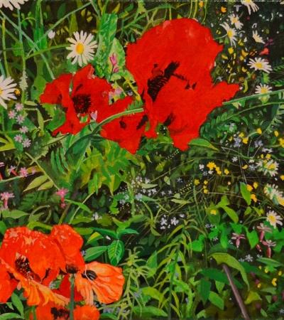 Jon Wealleans Post Pop Epiphanies paintings